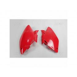Plaques latérales UFO rouge Honda CRF450R