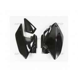Plaques latérales UFO noir Honda CRF450X