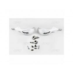 Protège-mains UFO Alu blanc