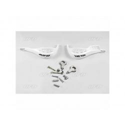 Protège-mains UFO Jumpy Supermotard Ø22mm blanc