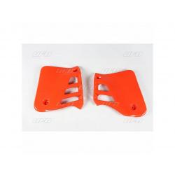 Ouïes de radiateur UFO orange Honda CR125R
