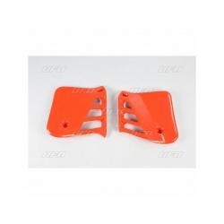 Ouïes de radiateur UFO orange Honda CR250R