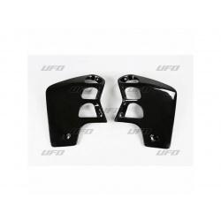 Ouïes de radiateur UFO noir Honda CR500R