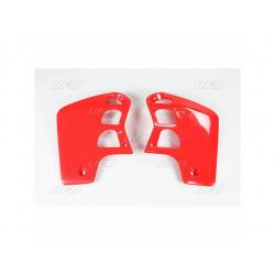 Ouïes de radiateur UFO rouge Honda CR500R