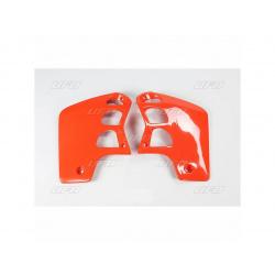 Ouïes de radiateur UFO orange Honda CR500R