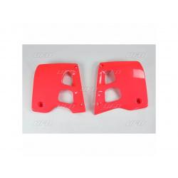 Ouïes de radiateur UFO rouge Honda CR125R/250R
