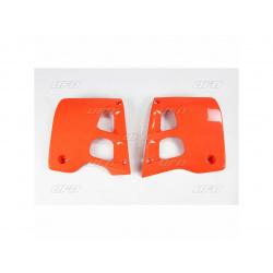 Ouïes de radiateur UFO orange Honda CR125R/250R