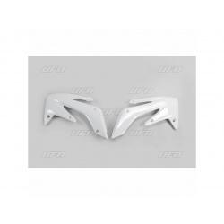 Ouïes de radiateur UFO blanc Honda CRF250X/R
