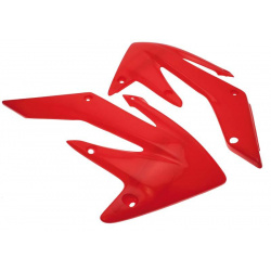 Ouïes de radiateur UFO rouge CRF250R/250X