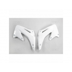 Ouïes de radiateur UFO blanc Honda CR125R/250R