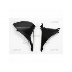 Caches boîte à air UFO noir KTM
