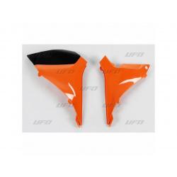 Caches boîte à air UFO orange KTM SX-F250/350/450/505
