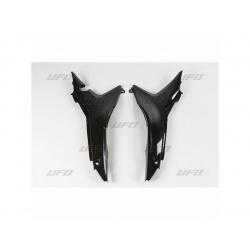 Caches boîte à air UFO noir Honda CRF450R/250R