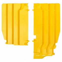 Cache radiateur POLISPORT jaune Suzuki RM-Z250