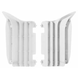 Cache radiateur POLISPORT blanc Yamaha YZ250F