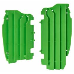 Cache radiateur POLISPORT vert Kawasaki KX450F