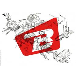 Pièce SAV YOSHIMURA Bande caoutchouc de silencieux r-77j pour suzuki