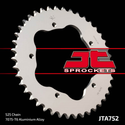 Couronne JT SPROCKETS 38 dents alu ultra-light pas 525 type 752