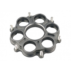 Support de couronne JT SPROCKETS 6 Silentblocs Ducati