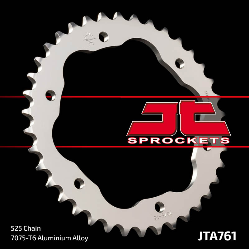 Couronne JT SPROCKETS 38 dents alu pas 525 type 761 Ducati Streetfighter