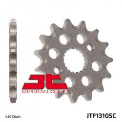 Pignon JT SPROCKETS 15 dents acier anti-boue pas 420 type 1310 Honda CRF150R