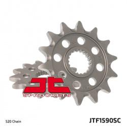 Pignon JT SPROCKETS 13 dents acier anti-boue pas 520 type 1590SC Yamaha YZ125