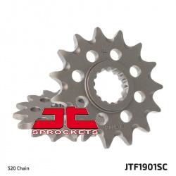 Pignon JT SPROCKETS 14 dents acier anti-boue pas 520 type 1901SC KTM 125/200EXC