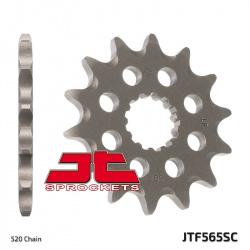 Pignon JT SPROCKETS 14 dents acier anti-boue pas 520 type 565SC Kawasaki KX250