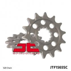 Pignon JT SPROCKETS 14 dents acier anti-boue pas 520 type 1565SC Kawasaki KX450F