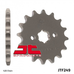 Pignon JT SPROCKETS 13 dents acier pas 420 type 249 Kawasaki KLX110