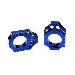 Tendeur de chaîne SCAR bleu Yamaha YZ250F/450F