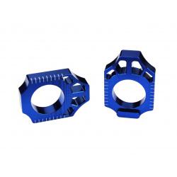 Tendeur de chaîne SCAR bleu Yamaha YZ125/250