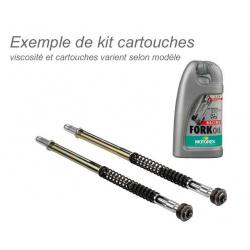 Kit cartouches de fourche BITUBO + huile de fourche MOTOREX Kawasaki ZX6R