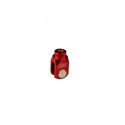 Chape de réglage de frein arrière SCAR alu rouge