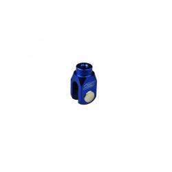 Chape de réglage de frein arrière SCAR alu bleu Kawasaki