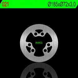 Disque de frein avant gauche NG 021 rond fixe Gas Gas