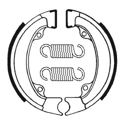 Machoires de frein TECNIUM BA011 organique