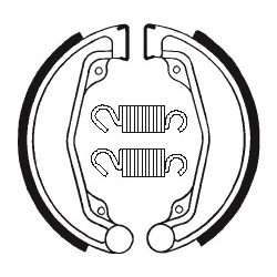 Machoires de frein TECNIUM BA023 organique