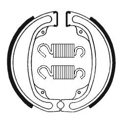 Machoires de frein TECNIUM BA031 organique