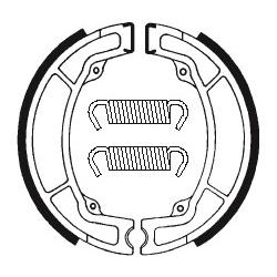 Machoires de frein TECNIUM BA033 organique