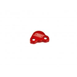 Couvercle de maitre-cylindre arrière SCAR rouge Honda