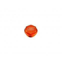 Couvercle de maitre-cylindre arrière SCAR orange KTM/Husqvarna