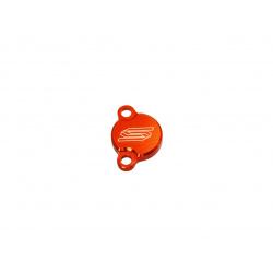 Couvercle de maitre-cylindre arrière SCAR orange KTM