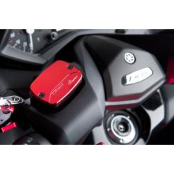 Couvercle de maître-cylindre de frein avant/arrière LIGHTECH alu rouge Yamaha T-Max 500/530