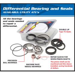 Kit roulements & joints de différentiel arrière ALL BALLS Polaris
