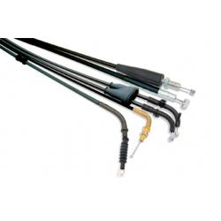 Câble de gaz tirage BIHR universel pour carburateurs Keihin PWK 28-39/PJ 34-38 - Mikuni TM 28-34