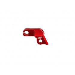 Guide câble d'embrayage SCAR rouge Honda CRF250R
