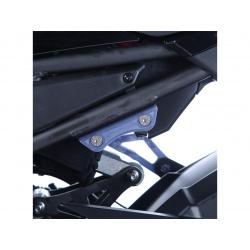Cache orifice reposes-pieds R&G RACING noir Kawasaki Z900