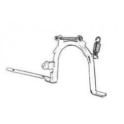BEQUILLE CENTRALE POUR PIAGGIO LX 125 4T