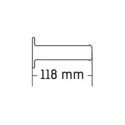 Revêtements DOMINO A190 Off-Road X-Treme noir/rouge